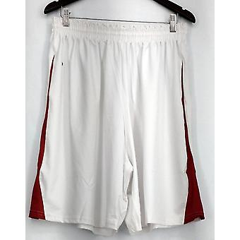 Holloway Plus Shorts (XXL) Performance Gym Style + Pockets White Womens