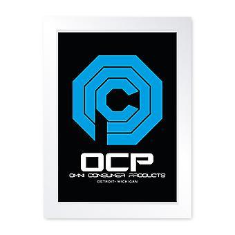 OCP, Quality Framed Print - Home Decor Kitchen Bathroom Man Cave Wall Art