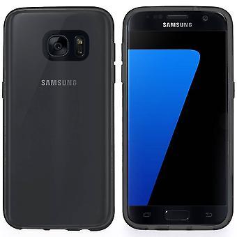 CoolSkin3T para Samsung Galaxy S7 Transparente Negro
