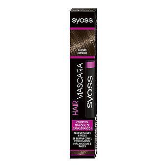 Syoss Hair mascara cobertura Temporal #castaño 16 ml til kvinder