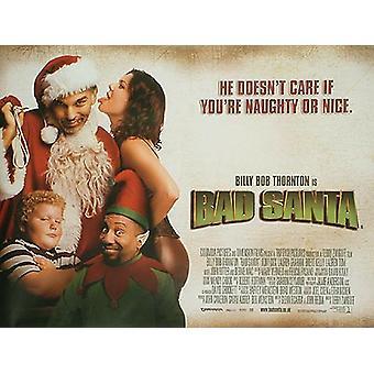 Bad Santa Original Cinema Poster