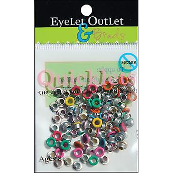 Eyelet Outlet Quicklets Round 84 Pkg Summer 2 Qrnd 950
