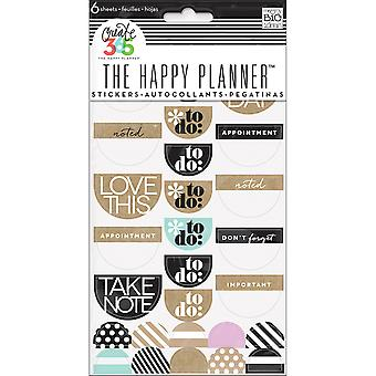 Create 365 Stickers 6 Sheets/Pkg-Love This Neutral PPS-52