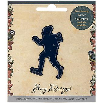 Find It Trading Amy Design Die-Ice Skater ADD10002