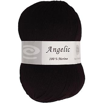 Angelic Yarn Charcoal Black Q105 F620