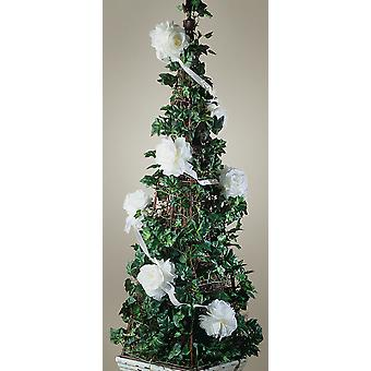Rose Garland 6 Feet White 1006 917