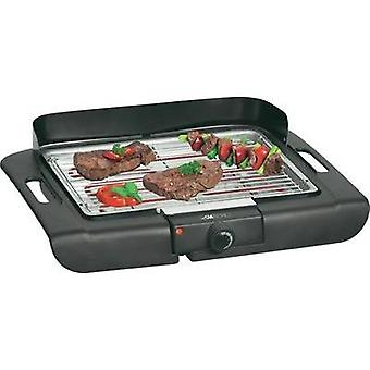 Electric Table grill Clatronic BQ3507 with wind protection, with manual temperature settings Black