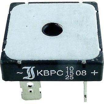 Diotec B 40/35 - 25 Silicon Bridge Rectifier 25A Nominal current 25 A (requires heat sink) U(RRM) 100 V