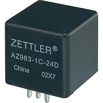 Automotive relay 24 Vdc 60 A 1 change-over Zettler Electronics AZ983-1C-24D