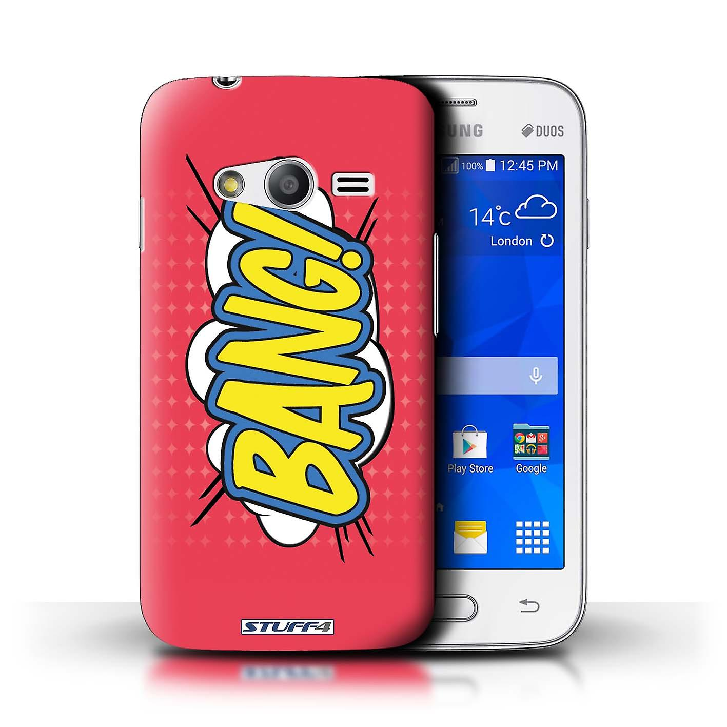 Stuff4 Case Cover For Samsung Galaxy V Plus G318 Bang Comics