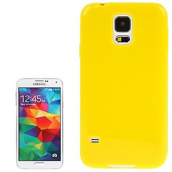 Protective case TPU case for mobile Samsung Galaxy S5 / S5 neo yellow