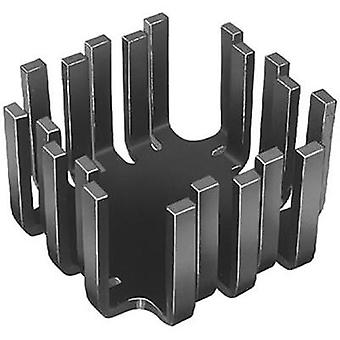 Heat sink (rods) 6 C/W (L x W x H) 45 x 45 x 25.4 mm TO 3, TO 55, SOT 9, SOT 3