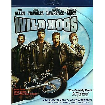 Wild Hogs [BLU-RAY] USA importerer