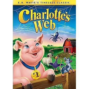 Charlotte's Web (1973) [DVD] USA importere