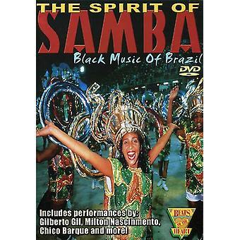 Geest van de muziek van de Samba-Black [DVD] USA import