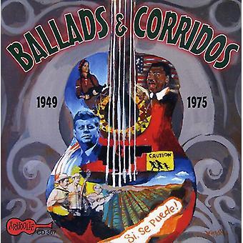 Ballader & Corridos 1945-1975-ballader & Corridos 1945-1975 [CD] USA importerer