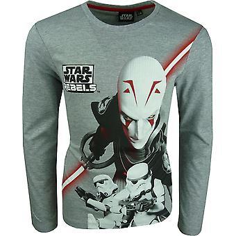 Star Wars Rebels Boys Long Sleeve Top / T-shirt