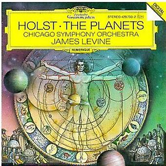 Levine/Chicago Symphony Orchestra Orch. - Holst: The Planets [CD] USA importeren