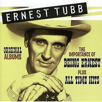 Ernest Tubb - Original Albums: The Importance of Being Ernest/Pl [CD] USA import