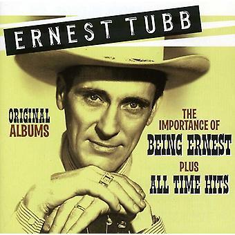 Ernest Tubb - Original-Alben: Die Bedeutung des Seins Ernest/Pl [CD] USA import