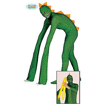 Reptile costume reptile costume Monster mutant one size