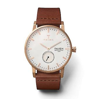 Triwa Unisex Watch wristwatch FAST101-CL010214 rose Falcon leather