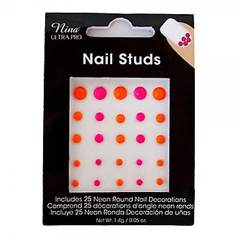 NUP NUP Neon Studs
