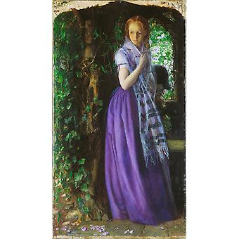 Arthur Hughes - April Love Poster Print Giclee