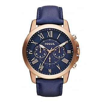 Fossil Fossil Men's Grant Chronograph Watch FS4835