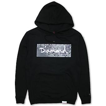 Diamond Supply Co Scatter Box Logo Hoodie schwarz