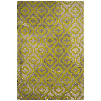 Short-pile woven rug living room indoor carpet grey green indoor rugs - Pacific Evergreen Grey Green 92 / 152 cm - rug for the living room inside