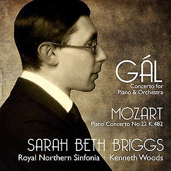 Gal / Briggs / Beth, Sarah - Concerto for Piano and Orchestra [CD] USA import