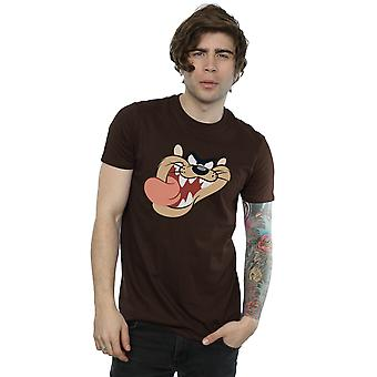 Looney Tunes Men's Tasmanian Devil Face T-Shirt