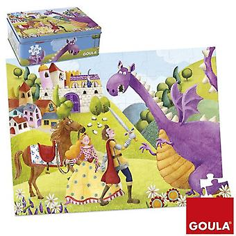 Goula Puzzle 54 Pieces Prince And Dragon (Toys , Boardgames , Puzzles)