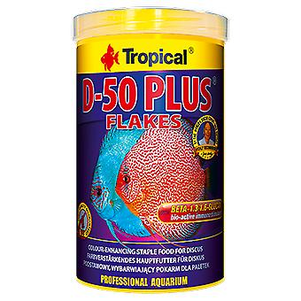 Tropical D-50 Plus 1000 Ml (Fish , Food , Warm Water)