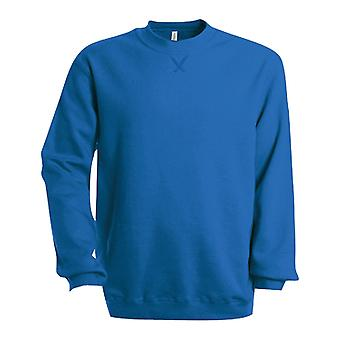 Kariban Mens Plain Crew Neck Sweatshirt