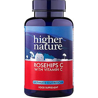 Higher Nature Rosehips C 1000mg, 90 Tablets