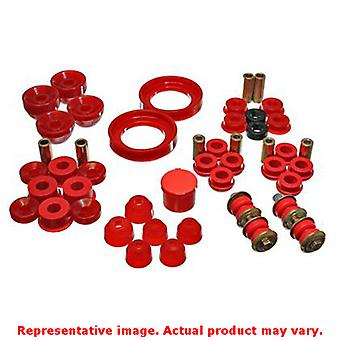 Energy Suspension Hyper-Flex System 16.18108R Red Fits:HONDA 1990 - 1993 ACCORD