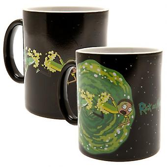 Rick And Morty Heat Changing Mug Portal