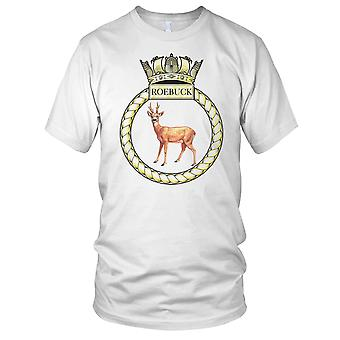 Royal Navy HMS Roebuck Kinder T Shirt