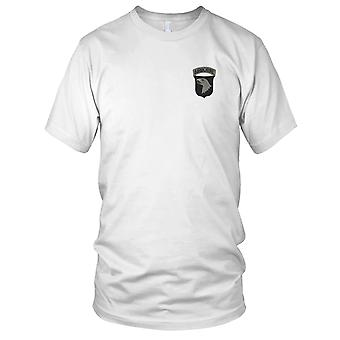US Army - 101st Airborne Division ACU Embroidered Patch - Hook And Loop Mens T Shirt