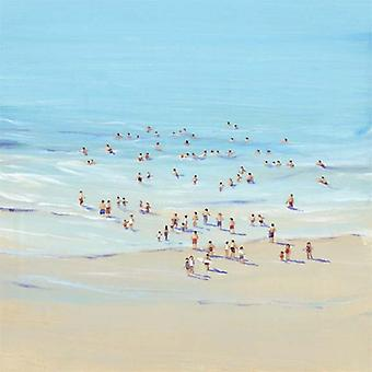 Beach Day I Poster Print by Tim OToole (26 x 26)