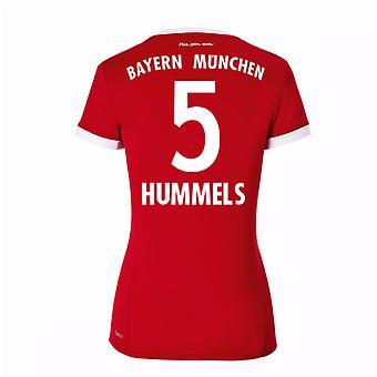 2017-18 Bayern München Startseite Womens Shirt (Hummels 5)