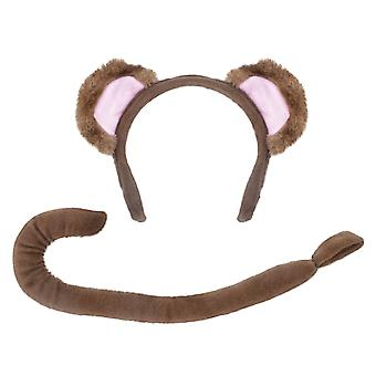 Monkey Set (Ears + Tail)