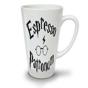Espresso Patronum neuer weißer Tee Kaffee Keramik Latte Becher 17 oz | Wellcoda