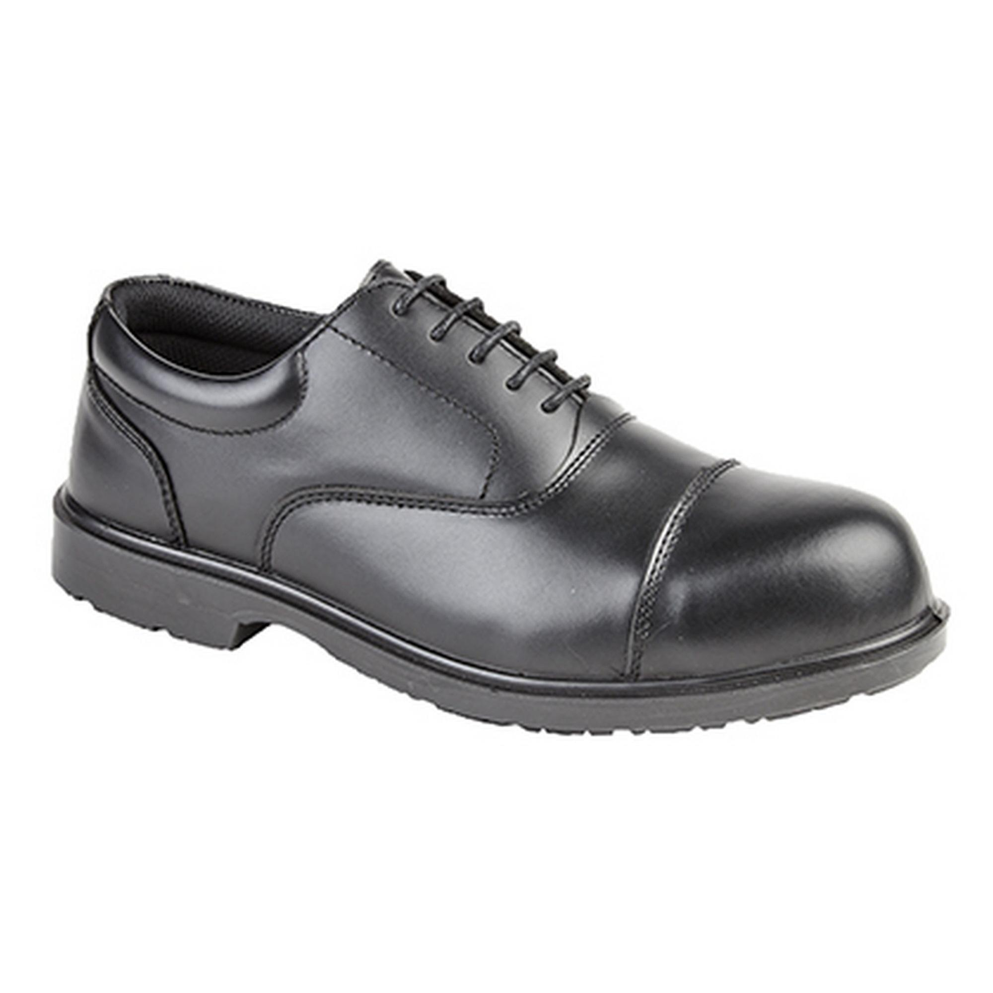 Grafters Mens Uniform Fully Composite Non-Metal Safety Oxford Shoes