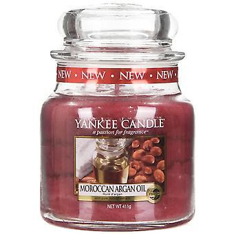 Yankee Candle Classic Medium Jar Candle 411g Moroccan Argan Oil