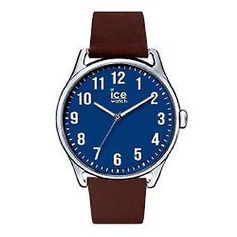 Temps de glace de Ice-Watch grand bleu brun (013048)