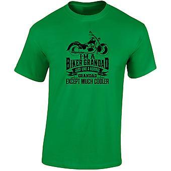 Ik ben A Biker Guy behalve veel koeler Mens T-Shirt 10 kleuren (S-3XL) door swagwear