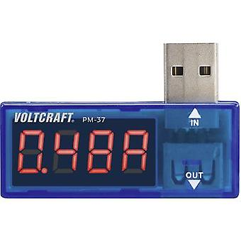 Handheld multimeter Digital VOLTCRAFT PM-37 Calibrated to: Manufacturer's standards (no certificate) CAT I Display (cou